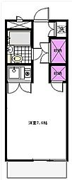 グレースKII[108号室]の間取り
