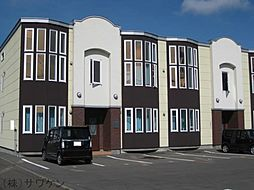 カーサルシア新町B[1階]の外観