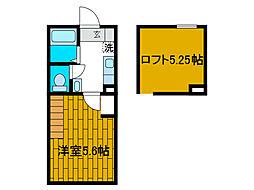 ソノート町田[1階]の間取り