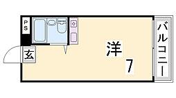 多聞ビル(旧村上ビル)[5階]の間取り