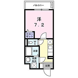東京都豊島区雑司が谷1丁目の賃貸マンションの間取り
