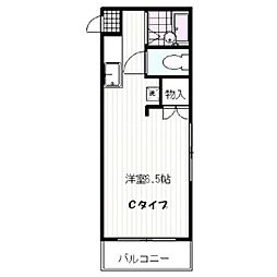 ピアハイツ21[3階]の間取り