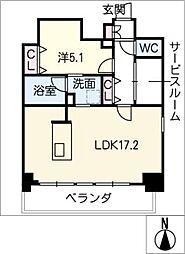ポルタニグラ大須[12階]の間取り