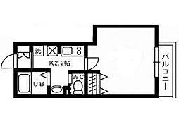 東京都品川区西大井5丁目の賃貸アパートの間取り