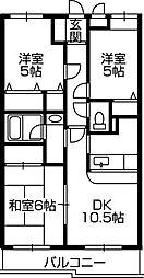 第3旭マンション[2階]の間取り