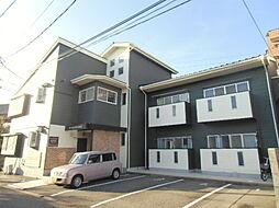 新潟県新潟市中央区下所島2丁目の賃貸アパートの外観