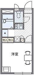 神奈川県鎌倉市浄明寺1丁目の賃貸アパートの間取り