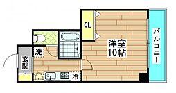 ルミエール海老江Ⅱ[5階]の間取り