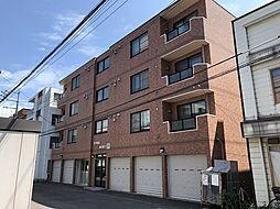 北海道札幌市中央区南5条西12丁目の賃貸マンションの外観