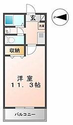 マンション大洋2[C−1号室 号室]の間取り