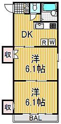 プログレス[2階]の間取り