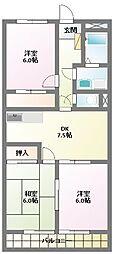 宮地興産ビル[7階]の間取り