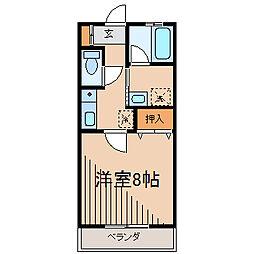 アーバングローブ[2階]の間取り