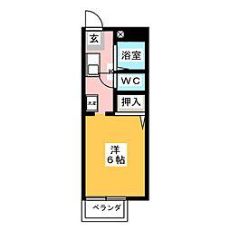 サンガーデン岩崎台[2階]の間取り