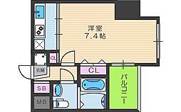 セレニテ天六[5階]の間取り
