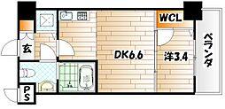 No.71 オリエントトラストタワー[10階]の間取り
