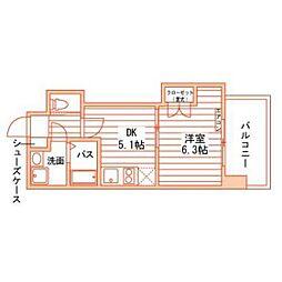 Grand E'terna 岡山II[7階]の間取り
