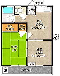 小泉ハイデンスA棟[2階]の間取り