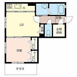 メゾン・ドゥ・ルポ[2階]の間取り