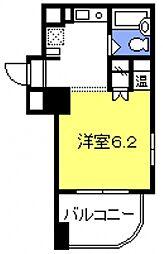 与野駅前プラザ[405号室号室]の間取り