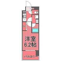 グランドガーラ川崎西口[2階]の間取り