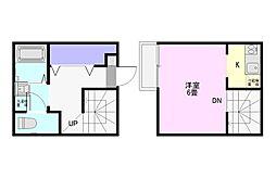 アークシティ霞ヶ関[1階]の間取り
