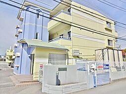 山梨県笛吹市石和町窪中島の賃貸マンションの外観
