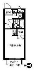 マノアール世田谷[3階]の間取り