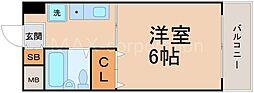 十三ハウス[2階]の間取り