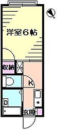 STAGE1[2階]の間取り
