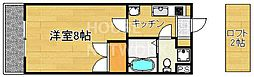ノーザンライツ宝ヶ池[206号室号室]の間取り