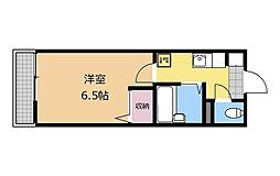 メゾン早川[2階]の間取り