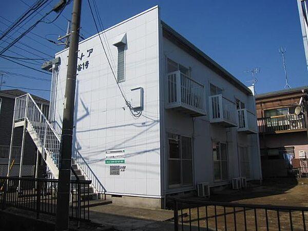 エステートピア菅谷[1階]の外観