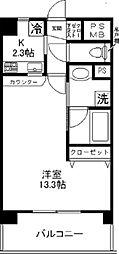 IP 1st IAMS[203号室]の間取り