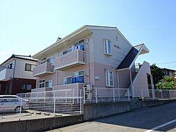 新潟県新潟市東区松崎1丁目の賃貸アパートの外観