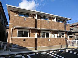 兵庫県姫路市飾磨区都倉2丁目の賃貸アパートの外観
