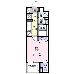 カームシティYASUDA III[0305号室]の間取り