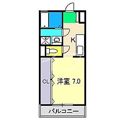 フィットハイム[3階]の間取り