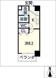 U・TOPIA75[13階]の間取り
