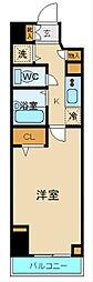 プロシード新横浜[10階]の間取り