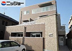 愛知県清須市西枇杷島町二見の賃貸アパートの外観