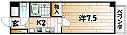 ソレーユ戸畑[2階]の間取り