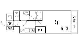 ファーストフィオーレ神戸湊町[1階]の間取り