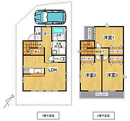[一戸建] 大阪府豊中市熊野町2丁目 の賃貸【/】の外観