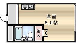 スタジオ32[103号室]の間取り