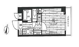 ステージグランデ田園調布 bt[102kk号室]の間取り