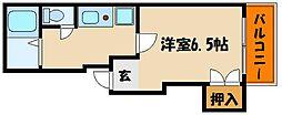 石本ビル[4階]の間取り