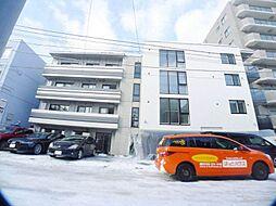 北海道札幌市中央区宮の森三条4丁目の賃貸マンションの外観