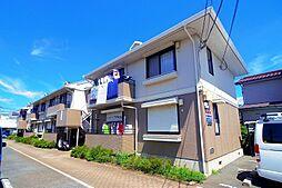 東京都清瀬市中清戸1丁目の賃貸アパートの外観