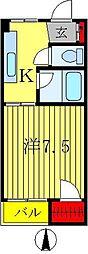 第1山田ビル[3階]の間取り